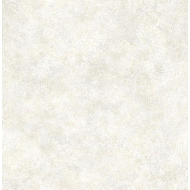 8 In. X 10 In. Astor Silver Texture Wallpaper Sample