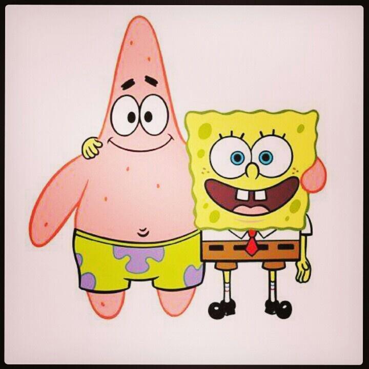 BFF Patrick and SpongeBob Spongebob&Patrick Pinterest