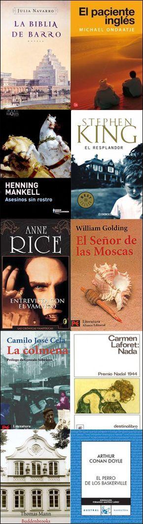 """La caverna literaria: Tú eliges... (2): mi lectura de """"1001 libros que hay que leer antes de morir""""."""