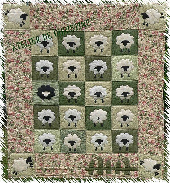 Histoire de moutons - LES COPINES DU VENDREDI