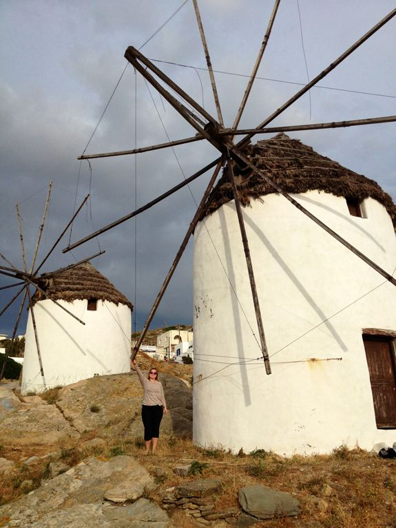 * Ios, Greece | Famous Windmills | Sara Russell Interiors
