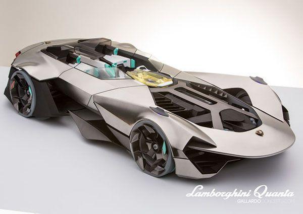 Concept Lamborghini Quanta, la supercar de 2020