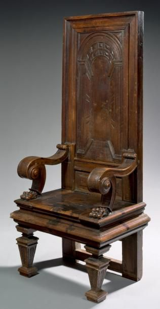 16th century chair, southern France