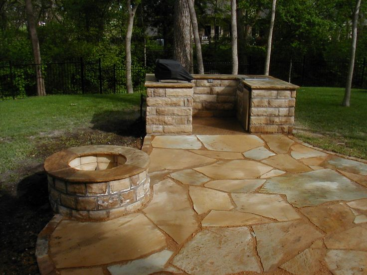 37 best ideas for the house images on pinterest | river rock patio ... - Rock Patio Ideas