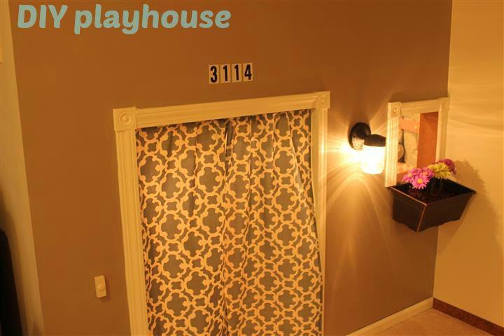 Diy indoor playhouse plans woodworking projects plans for Diy childrens indoor playhouse