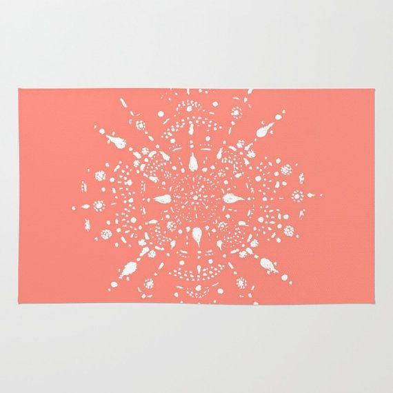 Corail rose tapis tapis moderne tapis blanc corail tapis