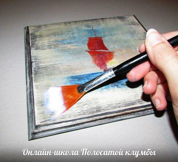 Создание сложного фона при помощи бейца и вживление распечатки мк