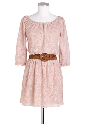 love this color on this dressDelias Dresses, Fashion, Allover Long Sleeve, Style, Closets, Clothing, Dusty Pink, Long Sleeve Lace, Lace Dresses