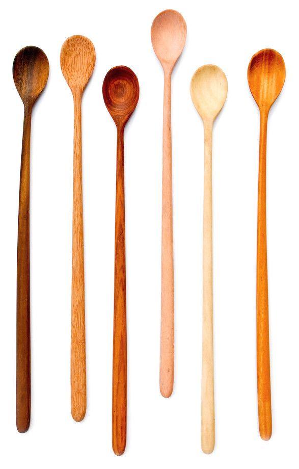 Wooden Tasting Spoon Set