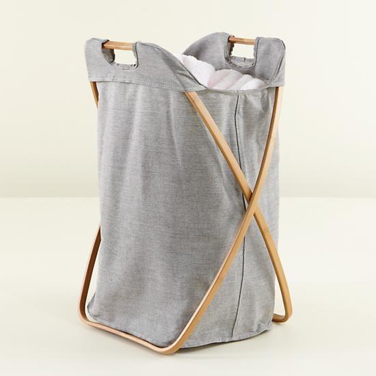Load Bearing Single Laundry Hamper  | The Land of Nod                                                                                                                                                                                 Más