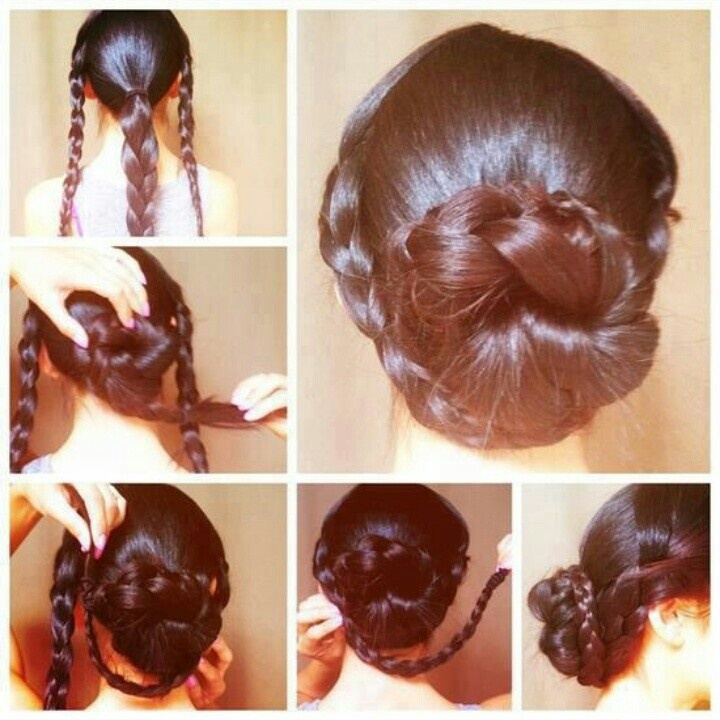 Marvelous 1000 Images About Gymnastics Hairstyles On Pinterest Gymnastics Short Hairstyles Gunalazisus