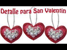 Dulceros de Corazón en Foami o Goma Eva | Manualidades para San Valentín - YouTube
