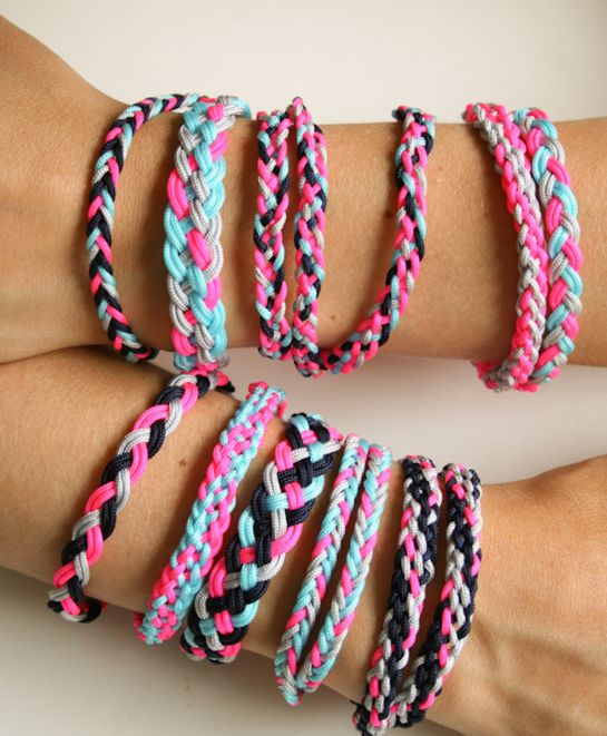 Looking for cool DIY bracelets to make? Try these 25 cool, unusual and totally awesome arm candy jewelry making tutorials! Features crafts for kids, tweens, teens, and adults.