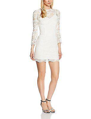 10, White, Jessica Wright Women's Juliette Dress NEW