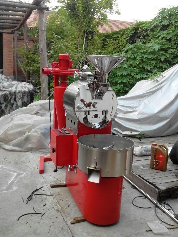 TJ-012 2kg coffee roaster red color