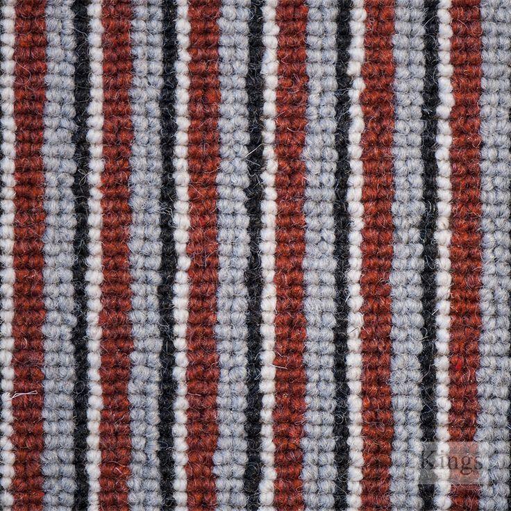 #HimalayaCarpets Napoli Stripe www.kingsinteriors.co.uk/flooring/striped-carpet