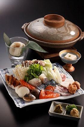 鍋料理(hot pot)