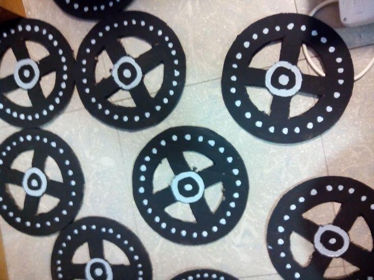 Pintamos las ruedas