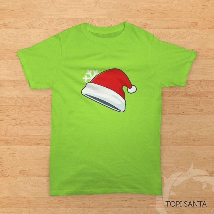 'Topi Santa' - Kaos Natal bergambar topi #sinterklas (Santa Claus). Size lengkap, mulai dari #KaosAnak sampai kaos dewasa. Bisa kompakan bareng sahabat dan keluarga saat perayaan #Natal di #gereja. All items ready stock di www.teesalonika.com --- CP : BBM (32605316) / WA (08811575513) ---- #KaosKristen #KaosRohani #Kaos #JadilahTerang #Natal #KaosCouple #KaosFamily