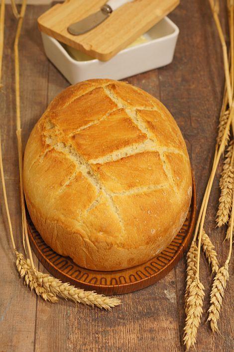 Chleb pszenny z garnka #thermomix