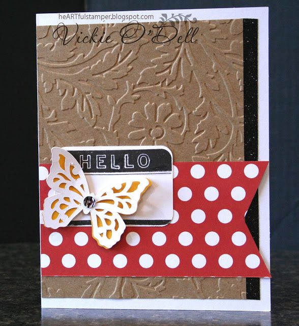 HeARTful Stamper: July Stamp of the Month Blog Hop - From the Notebook