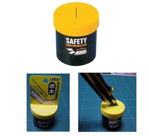 Blade disposal : Olfa safety blade disposal case