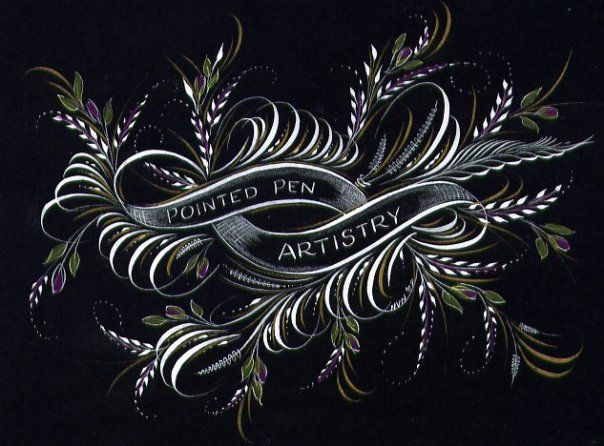 166 Best Calligraphy Flourish Images On Pinterest