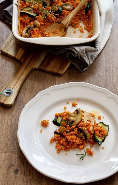 Kuchnia Nastrojowa: Kasza jaglana w aromatycznym sosie pomidorowym