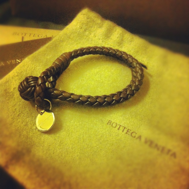 Bottega Veneta bracelet :D