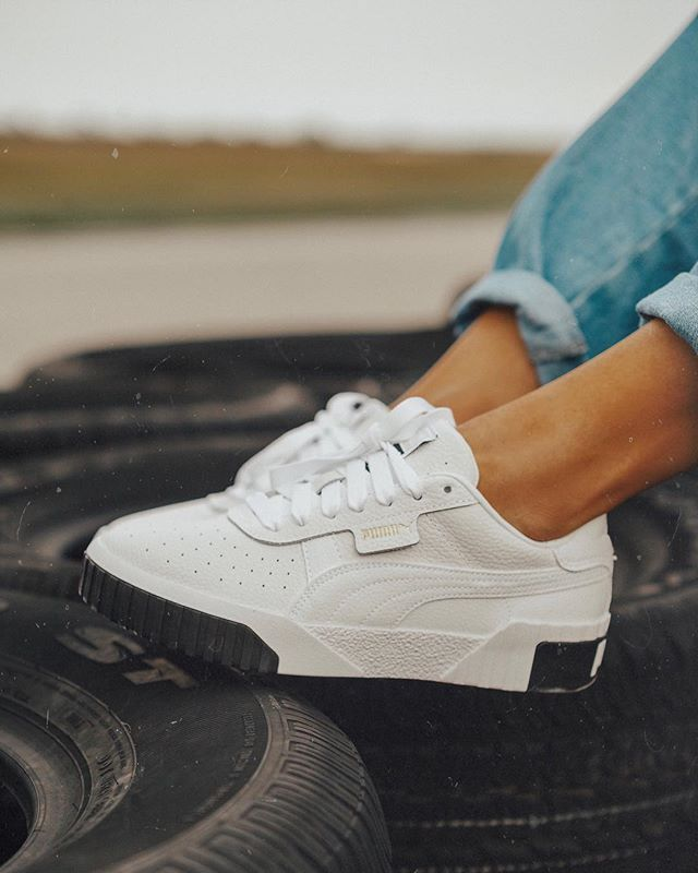 05d30a31f70 heres a closeup of the new  puma Cali Fashion sneaker that dropped last  week. Im obsessed! Sharing how I styled these with an all  nordstrom ...