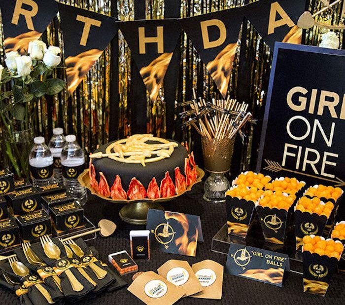 Hunger Games Tween/Teen Birthday Party
