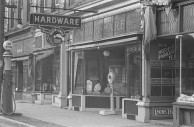 W.A. Holliday Hardware Store: Whitby Images