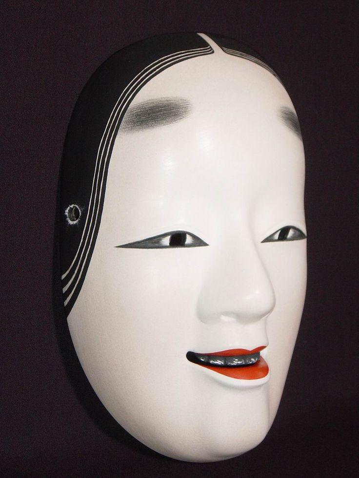 23 best images about Noh Masks on Pinterest