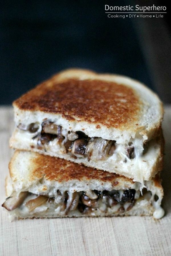 Caramelized Onion & Mushroom Havarti Melt | Recipe | Mushrooms and ...