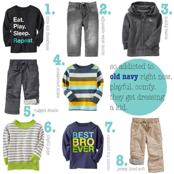 cute boy clothes - old navy