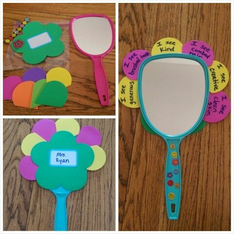 Daisy Scout purple petal respect myself - all supplies from DollarTree:
