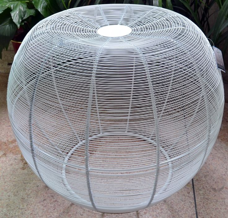 DECOR | Large white iron stool which can also be used as a table. Only $160 RRP AUD. Wholesale is also available, please email: info@philbee.com.au