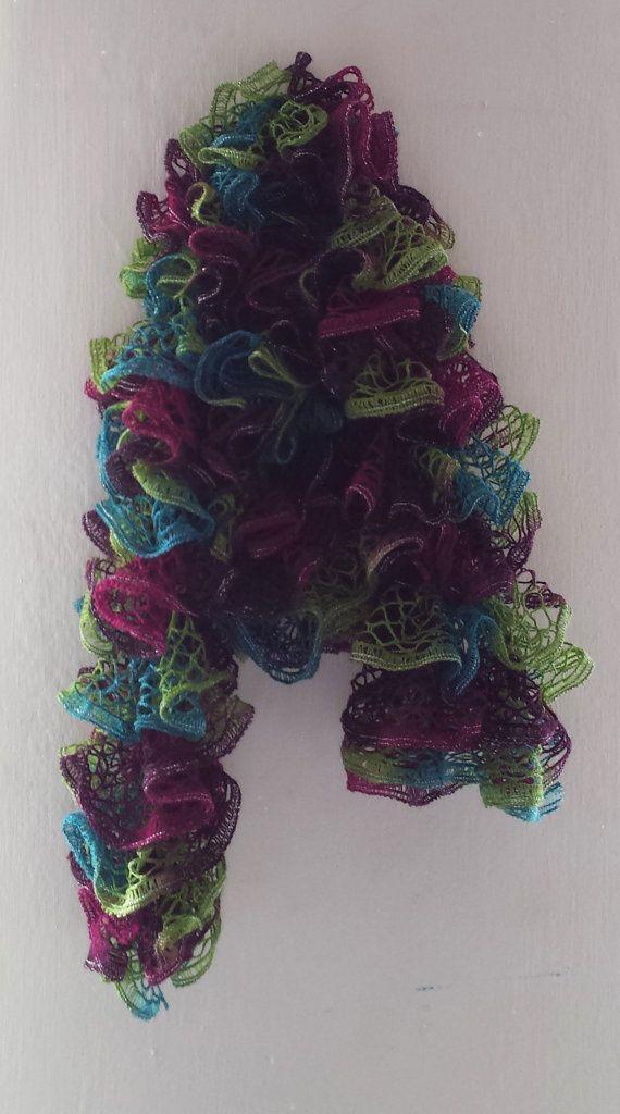 Twirll scarf // kronkelsjaal