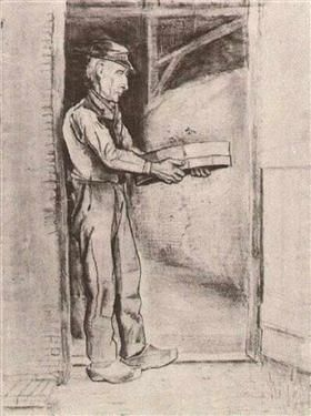 Man with Winnow - Vincent van Gogh