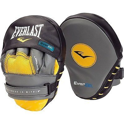 Strike Pads and Mitts 179789: Boxing Punching Mitts Gloves Glove Mitt Boxer Mma Fighter Hit Everlast Training BUY IT NOW ONLY: $45.61