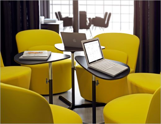 Oltre 25 fantastiche idee su sale riunioni su pinterest - Poltrone girevoli ikea ...