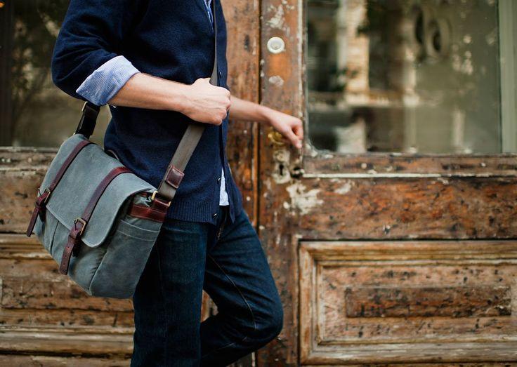 ONA Brixton Camera & Laptop Messenger Bag $289. Oh how i love this
