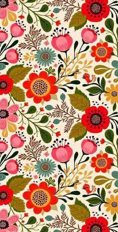Vintage Original 60's Wallpaper | Retro | Pinterest