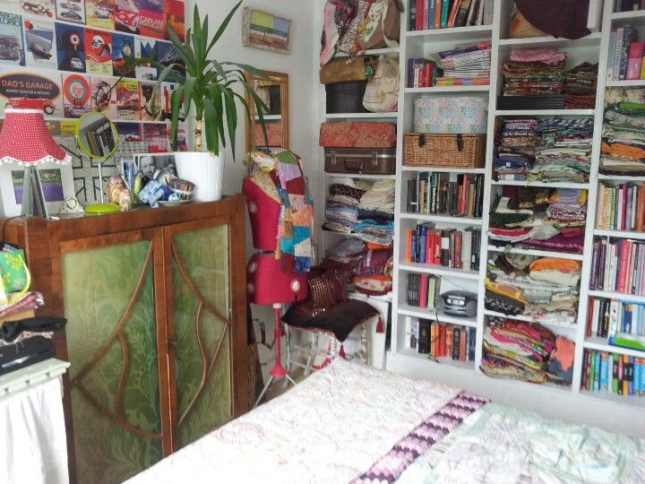 Spare room and workroom