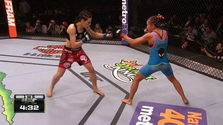UFC 185 - Carla Esparza x Joanna Jedrzejczyk   Globosat Play