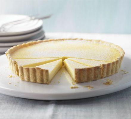 The ultimate makeover: Lemon tart recipe - Recipes - BBC Good Food 186cal 12 slender slices