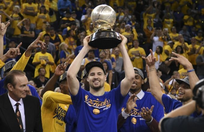 Klay Thompson?s Dad Watched ?WWE Raw? Instead of Warriors vs. Thunder Game 7