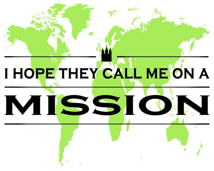 I hope they call me on a mission LDS printable
