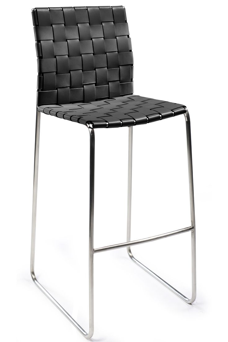 BOND barstool in regenerated leather