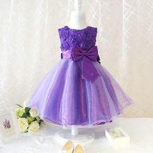 Nueva llegada del verano princesa de las flores vestido de la muchacha, de encaje rosa de Cumpleaños Fiesta vestidos de las muchachas, tutú de la princesa Caramelo elegante 2016(China (Mainland))